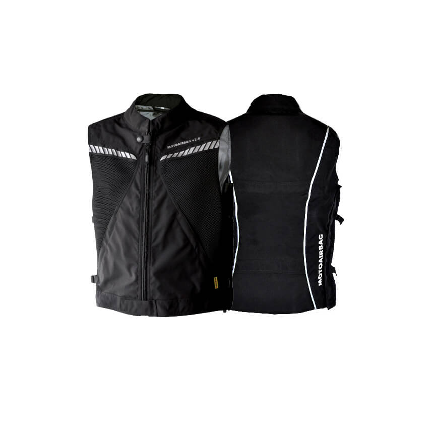 motoairbag nero gilet con airbag moto completo evendor. Black Bedroom Furniture Sets. Home Design Ideas