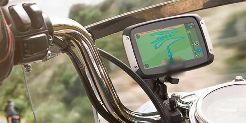 navigatore per moto