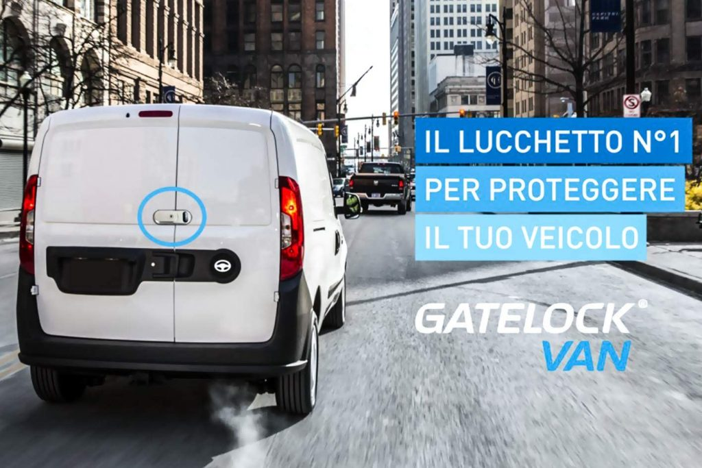 Lucchetto per Furgoni - GateLock Van